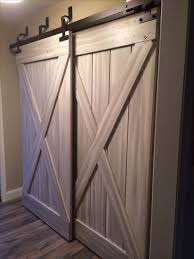 25 best barn doors for closets ideas on sliding barn inside barn doors for closets plan