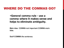 when is a comma used commas the little punctuation you can use correctly