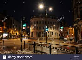 Red Light Wolverhampton Traffic Lights At Junction Stock Photos Traffic Lights At