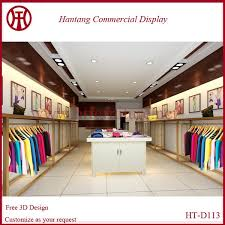 Shop Decoration Design Hot Sale Fashion Design Garment Shop Decoration Design Buy Garment 2