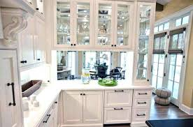 adding glass to cabinet doors improvement how to how to install glass front kitchen of glass