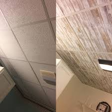 drop ceiling lighting ideas. wallpapered drop ceiling update ceilings with peel and stick wallpaper lighting ideas