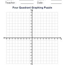 Graphing Characters Worksheets