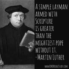Rdrd Bible Study John Wycliffe Sola Scriptura Before Sola