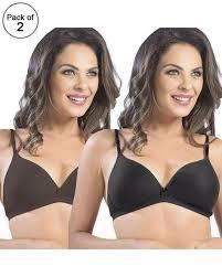 Sonari Bra Size Chart Pack Of 2 Sonari Omania Bra Non Padded Non Wired