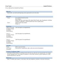 resume format ms word cipanewsletter ms word resume template resume format in