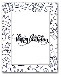 It is a lot of fun to create for your kids. 60 Best Free Printable Happy Birthday Coloring Sheets Stickers Cards Gift Tags And More Sarah Titus From Homeless To 8 Figures