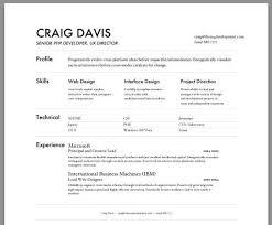 Free Resume Builder Microsoft Word Download