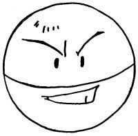Small Picture Pokemon coloring page 101 electrode coloring pages