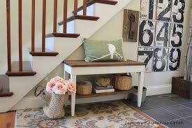 piano bench makeover foyer vignette and diy piano bench makeover life on kaydeross creek