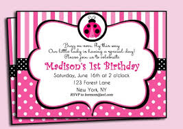 Ladybug Birthday Party Invitations  Free Invitations IdeasFree Printable Ladybug Baby Shower Invitations