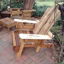 pallet adirondack chair plans. Recycled Pallet Adirondack Chair Plans H