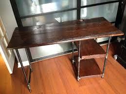 diy pipe desk best pipe desk plans see more industrial pipe desks at diy pipe desk