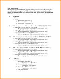 high school compare contrast essay outline example to examine two   example essay outline toreto co for descriptive examples of an mla format outline 3 outlines for