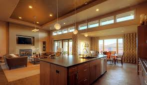 The Title Of This Photograph Is Open Plan Kitchen Family Room Ideas. It Is  Literally