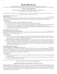 Teller Resume Samples Bank Teller Resume Learning To Write From A