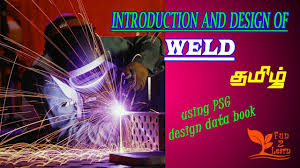 Buy Psg Design Data Book Introduction And Design Of Weld Psg Data Book Tamil