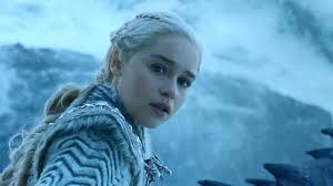 emilia clarke as daenerys targaryen in a still from game of thrones hbo for the first time