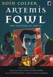 cover of viking blood by andrew donkin artemis fowl the arctic incident graphic novel