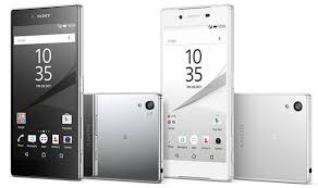 sony xperia z5. the sony xperia z5 features a waterproof design and 23 megapixel camera