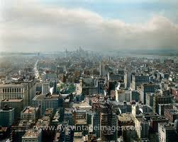 view south from the metropolitan life insurance company tower 1912