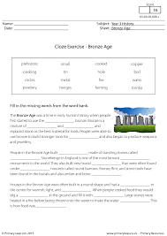 Cloze Reading Worksheets Worksheets for all | Download and Share ...