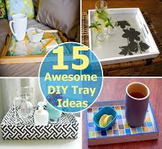 Serving Tray Decoration Ideas 100 Awesome DIY Tray Ideas DIY Home Things 30