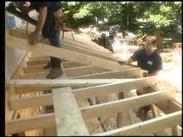 framing the porch roof you