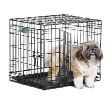 Midwest iCrate Double Door Dog Crate with Divider - Free Shipping Today -  Overstock.com - 15628056