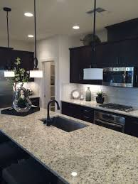 Adorable Kitchen Backsplash For Dark Cabinets With K Hovnanian Homes