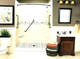 antique shower pan showers shower pan tub kit amazing conversion convert to stone kits vintage freestanding