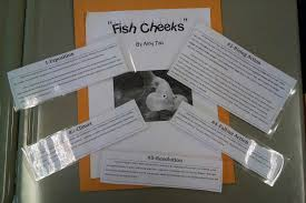 mr adelman s th grade ela class  fish cheeks and other conflicts