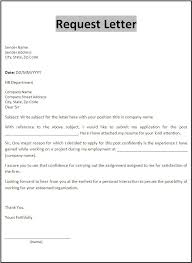 Application Letter Format Example – My College Scout