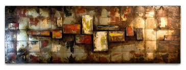 large panel wall art hand crafted large wall art panels three dimensional abstract colorful dominant gorgeous brown extra large panel wall art