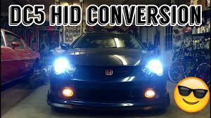 Acura Rsx Fog Light Bulb Size Rsx Hid Headlight Conversion Step By Step Full Kit
