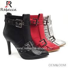 China <b>Fashion Ladies Patent</b> PU Boot Sanke Python PU Boot ...