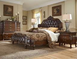 bedroom captivating carved object in traditional bedroom furniture with drak bed between pednant lamp on
