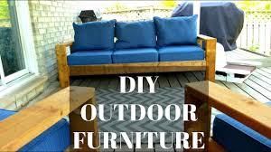 diy outdoor sofa. DIY Outdoor Couch \u0026 Chairs | CHEAP EASY HACK Diy Sofa