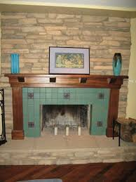 fireplace designs with tile tile types custom masonry and fireplace