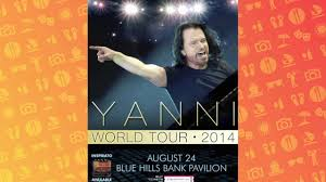 Blue Hills Bank Pavilion Seating Chart 2014 Wgbh Auction 4 Premium Tickets To Yanni At Blue Hills Bank Pavilion