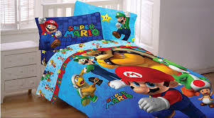 unthinkable mario bros bedding dazzling official nintendo super