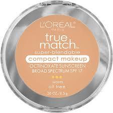 prod5430890 l oreal paris true match super blendable pact makeup beige w3