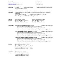 Resume Template Word Mac Inspirational College Resume Template ...