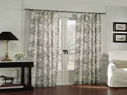 nice french door curtain rods