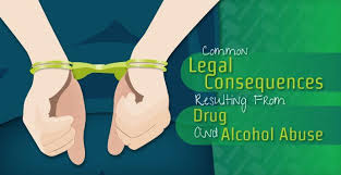 Abuse Substance Resulting Consequences Legal From Common