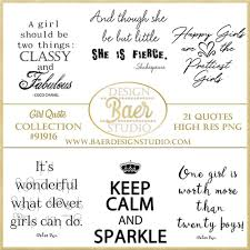 Girl Quotes Inspirational Quotes About Girls Little Girl Quotes Quotes For Planner Stickers Photo Overlays Digital Stamps 91916