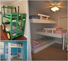 cool bunk beds. Interesting Beds Decorating Surprising Bunk Bed Ideas 10 Cool Diy Kids Bunk Bed Ideas On Beds C