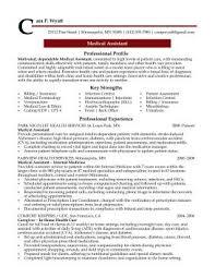professional resume cover letter sample medical assistant professional resume sample design resumes sample of a medical assistant resume