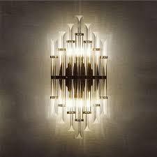 <b>led e14</b> Nordic Iron Crystal Designer <b>LED</b> Lamp <b>LED</b> Light Wall ...