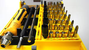 precision tool kit. review screw drivers toolkit for electronics diy (45-piece set) - dealextreme dx youtube precision tool kit
